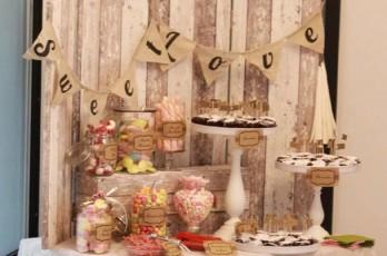 Hochzeitsdekoration, Candybar, Vintagstyle,