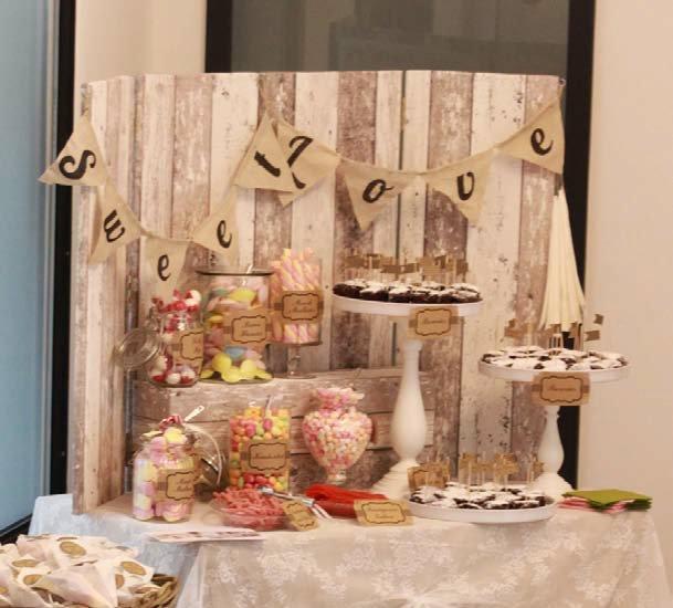 Candybar im Vintagestil für Ihre Hochzeit  Willkommen bei Ihrem ...